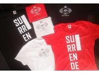 Print T-shirts Brand New Male Women Unisex Logo Design Decal Tshirts Printed Clothing Group Tshirt