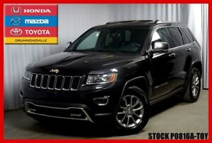 2014 Jeep Grand Cherokee Limited / CUIR / TOIT / CAMERA DE RECUL