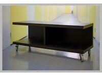 TV unit Ikea dark wood