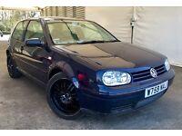 *** BARGAIN *** 2000 VW GOLF 2.0L GTI, 3 DOOR HATCH, MANUAL, LONG MOT, RECARO SEATS, READY TO GO