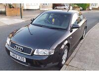 Audi A4 1.9 TDI SE 130 bhp Saloon Diesel Manual BLACK 2003
