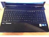 Fujitsu Lifebook AH532 Laptop Windows 10 Home 64bit 750GB 8MB Ram