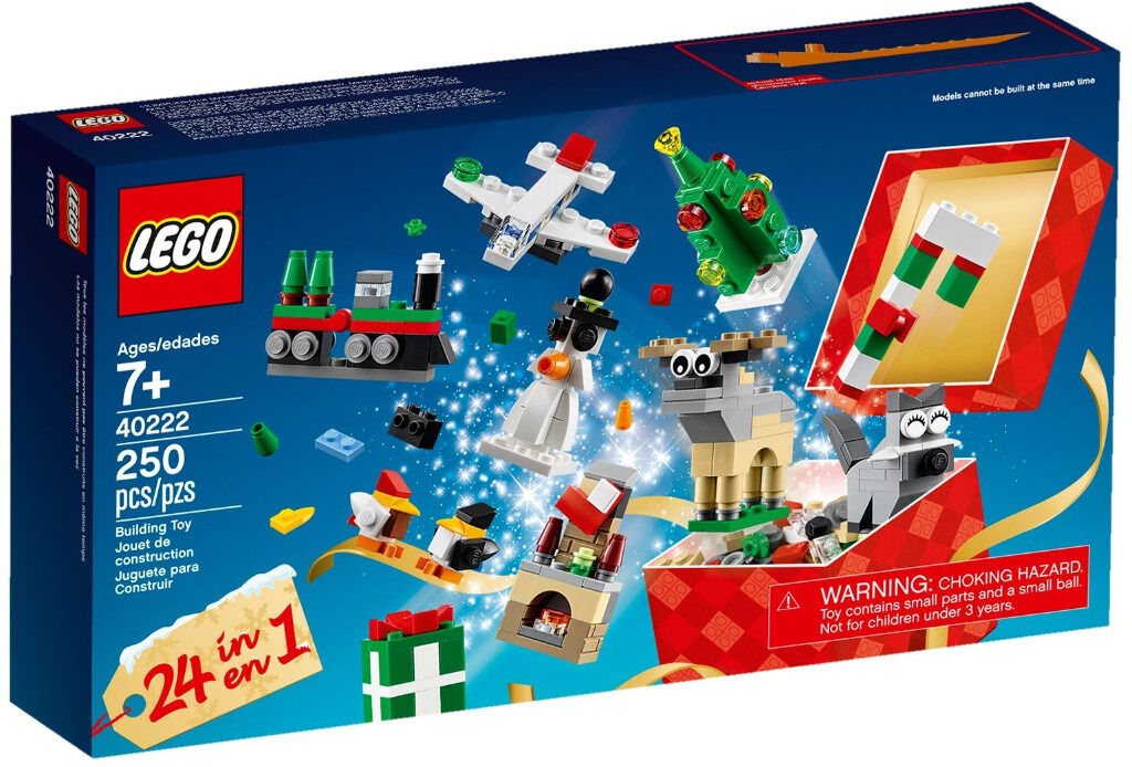BRAND NEW Special Edition Lego 40222 Christmas 24 in 1 Set!!
