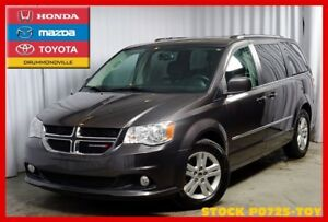 2016 Dodge Grand Caravan CREW PLUS/CUIR/STOW&GO/ET +
