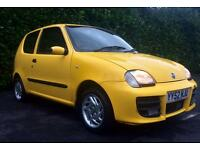 68000 MILES 11.2002 FIAT SEICENTO SPORTING 1.1 55 BHP FULL SERVICE HISTORY / READ ADVERT