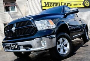 2014 RAM 1500 OUTDOORSMAN+Factory Lift-kit! ONLY $186/bi-weekly!