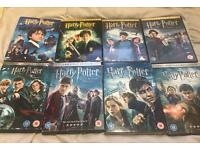 Harry Potter All 8 Movies DVD
