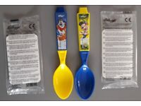 Stocking filler - Two Kelloggs 2017 Cereal Spoons Frosties and Coco Pops – post or collect