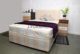 SAME DAY DELIVERY- BRAND NEW DOUBLE / OR 5FT KINGSIZE DIVAN BED WITH RANGE OF MATTRESSES AVAILABLE