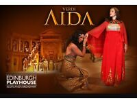 3 x Aida Opera tickets Sat 1st April Great Seats