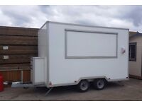 Catering unit 12ft x 7ft, as new