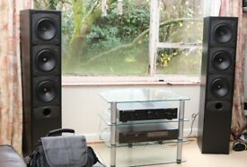 GLL Goodmans Imagio IC130i Floor Standing Loudspeakers, Excellent Sound and Condition