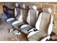 BMW E36 M Sport M3 316 318 320 325 328 Convertible Leather Seats Interior