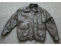 Mens leather jacket- elegant stylish Beale and Inman. Size 38. Immaculate