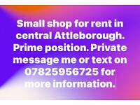Attleborough Shop to rent