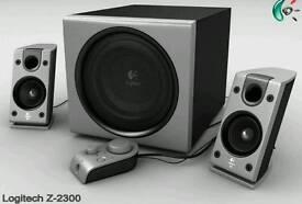 Logitech z2300 pc speakers