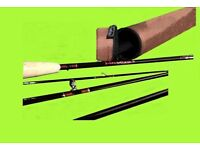 FLEXTEC CDX 66 FLY FISHING ROD 10' #6/7 - 4 pieces BRAND NEW