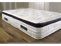 Free Double Quilt With BRAND NEW Luxury 13 Inch Thick Luxury Pillow Top 3000 Pocket Sprung Mattress