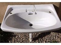 Armitage Shanks Bathroom sink and pedestal