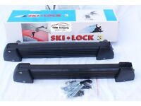Ski Lock Holders - Handles ( Ski , Snowboard..) for 3 or 5 pair