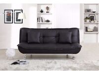 Modern Stylish Leather Designer Sofa Bed, free Delivery
