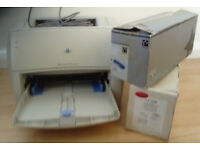 HP laserjet 1000 plus a replacement cartridge (LJ1200)