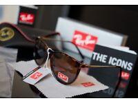 Raybans ladies turtle shell sunglasses bargain