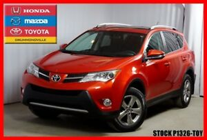 2015 Toyota RAV4 XLE / TOIT OUVRANT / CAM RECUL / MAGS 17''