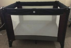 Mamas & Papas Travel Cot with mattress - Excellent condition