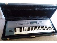 Korg N364 keyboard/workstation with hard flight case