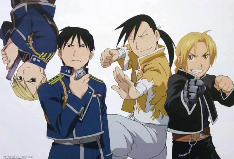 Fullmetal Alchemist mini poster official anime Full metal
