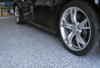 POLYASPARTIC GARAGE FLOOR COATING BY ARMOUR CUSTOM COATINGS