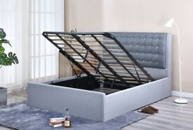 Brand New King Ottoman Bedframe on Clearance Sale ``