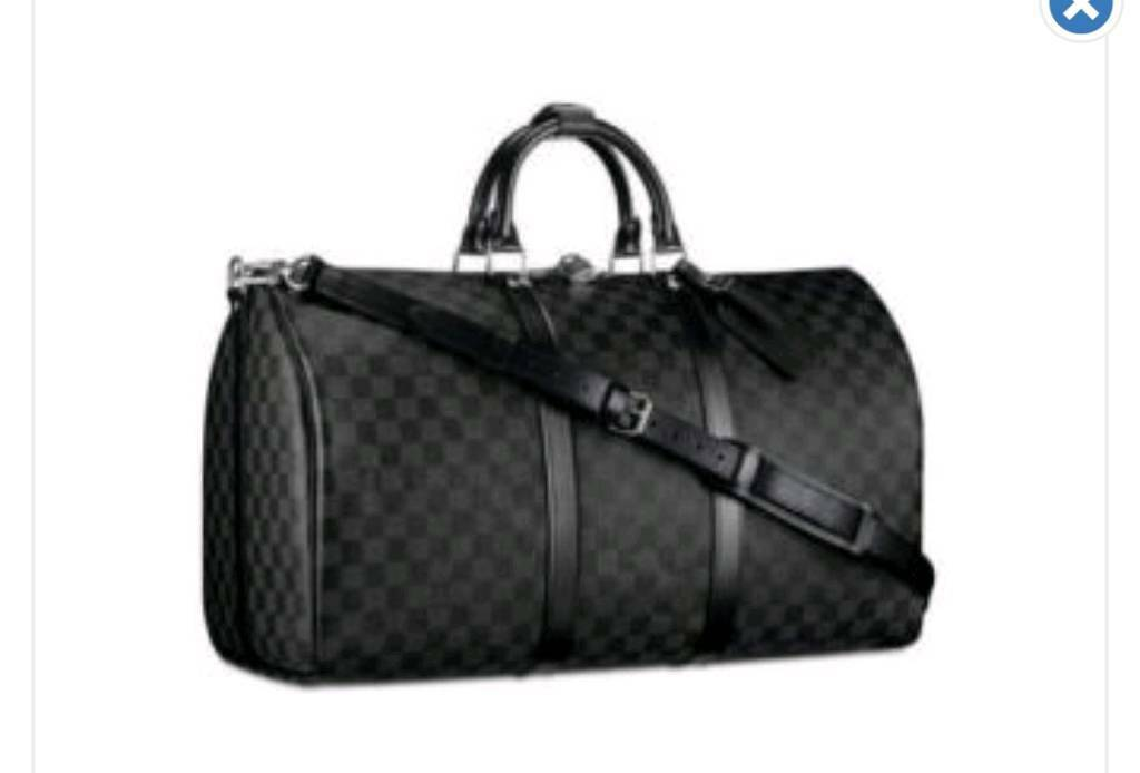 Louis vuitton holdall luggage bag  29216075ae8c2