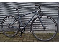 """Norco 'City Glide' Gray Town Bike. 18"""" Mens / Ladies Bicycle"""