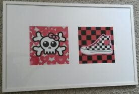 Cool Large Framed POP ART Picture~Ideal for Teenage Girl's Room