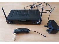 Samson AirLine 77 AG1 UHF Wireless Guitar System