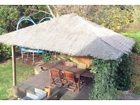 Large Wooden Gazebo 12ft x9ft Extra Decking available for FREE