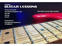 Cambridge Guitar Lessons - Learn to Shred!