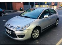 Citroen C4 Diesel 1.6 with full year MOT road tax £30 a year