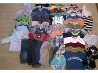Large bundle of baby boy clothes, age 3-6 months. Great condition.