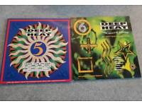 Deep heat 5 and 6 contains 4 vinyl records