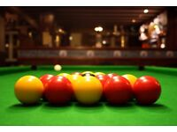 Friendly pool team looking for extra players