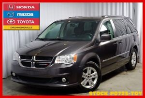 2016 Dodge Grand Caravan CREW PLUS+CUIR+VOLANT CHAUFFANTS +++