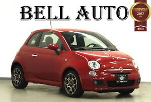 2012 Fiat 500 SPORT LEATHER POWER GROUP