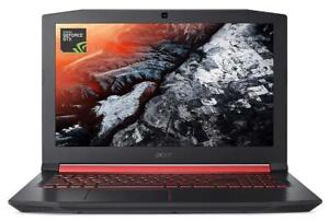 ACER NITRO 5 Gaming laptop 15.6 FHD i5-8300H, 8GB, 1TB, Nvidia Ge Force GTX 1050, 4GB new open box