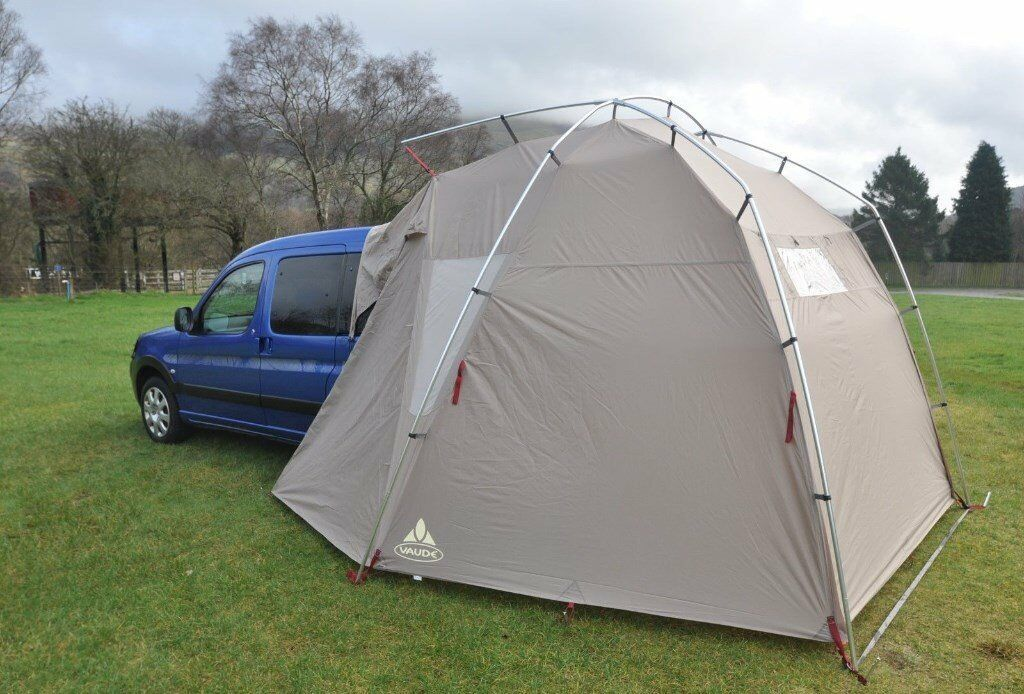 Vaude Drive Driveaway Van Awning And Inner Tent Fits VW T4 T5 Caddy Etc