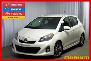 2014 Toyota Yaris SE / TRES BAS KM / MAGS / SUPERBE LOOK