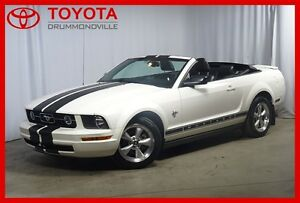 2009 Ford Mustang V6/DECAPOTABLE/BAS KM/AUTOMATIQUE