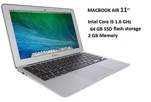 APPLE MACBOOK AIR 11 '' i5 1.6 ghz 2 GB 64GB SSD +OFFICE PRO 2016,FINAL CUT PRO X,LOGIC PRO X,MASTER SUITE DE ADOBE